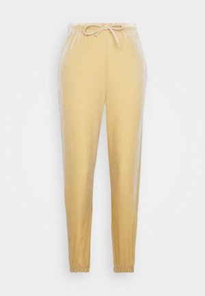 PCGIGI PANTS - Tracksuit bottoms - warm sand
