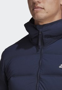 adidas Performance - HELIONIC SOFT HOODED DOWN JACKET - Down jacket - blue - 7
