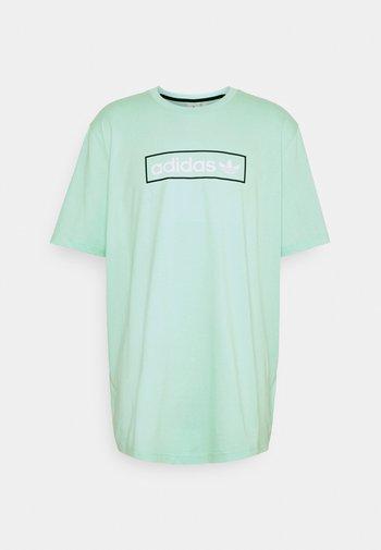 LINEAR LOGO TEE - Camiseta estampada - clear mint