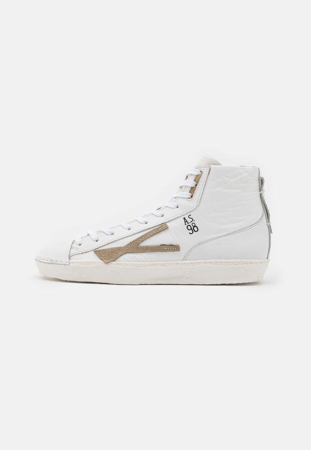 MUNDIAL - Sneakers hoog - bianc/bian