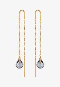 Julie Sandlau - EVENING DEW EARRINGS - Øreringe - gold-coloured/grey - 3