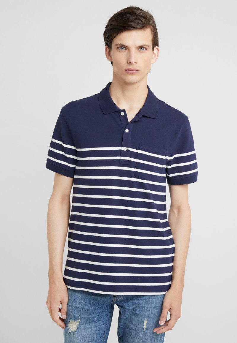 J.CREW - BRETTON - Polo shirt - dark blue