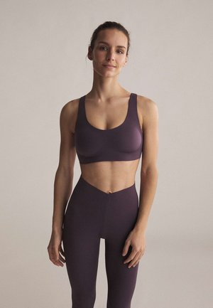 Sports bra - dark purple