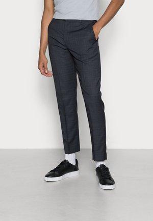 STRETCH WINDOWPANE PANT - Trousers - calvin navy