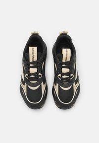 Emporio Armani - ACE RUNNER - Sneakers laag - black - 4