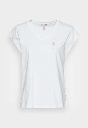 EMBRO - T-shirts - white