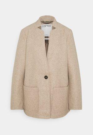 Classic coat - cream/beige