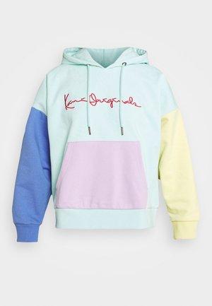 ORIGINALS BLOCK HOODIE - Sweatshirt - mint