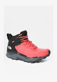 The North Face - VECTIV EXPLORIS MID FUTURELIGHT - Hiking shoes - fiesta red/tnf black - 2