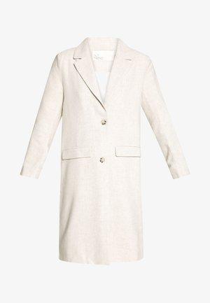 LONG LINE COAT - Zimní kabát - beige