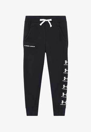 RIVAL - Teplákové kalhoty - black/white
