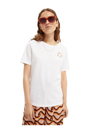 CREW NECK TEE - Basic T-shirt - white