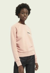 Scotch & Soda - WITH VARIOUS ARTWORKS - Sweatshirt - pink smoothie - 0