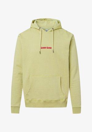 LUCKY LUKE – LÉGÈRE - Hoodie - light green, light yellow