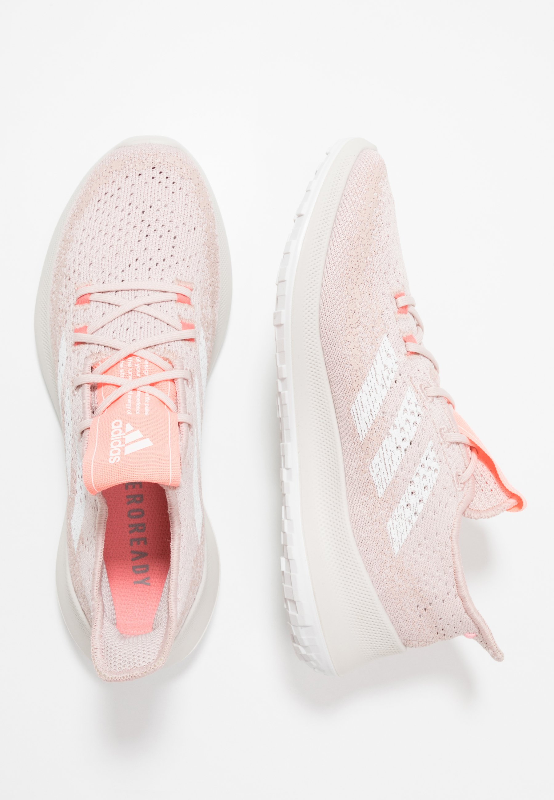 SENSEBOUNCE + S.RDY Neutrala löparskor pink spicefootwear whitelight flash red
