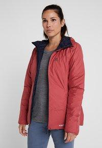 Salomon - DRIFTER HOODIE - Outdoor jacket - garnet rose/night - 3