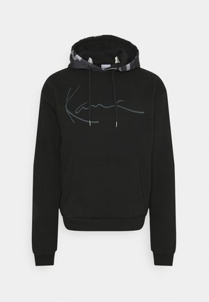 SIGNATURE AMO HOODIE - Sweat à capuche - black
