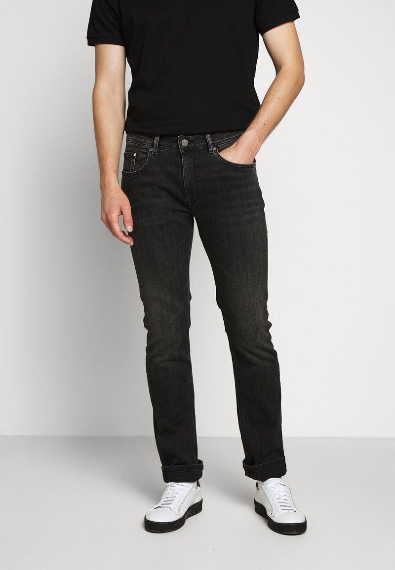 KARL LAGERFELD - 5 POCKET - Jeans slim fit - grey