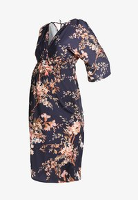 Hope & Ivy Maternity - KIMONO DRESS - Denní šaty - navy - 4