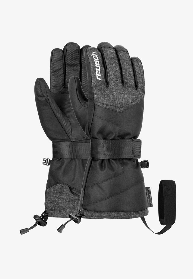 BASEPLATE  - Gloves - blck/blck melange/silver