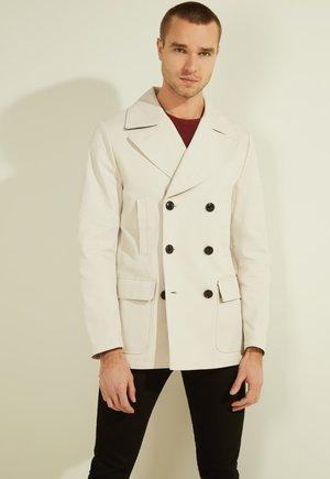 Krótki płaszcz - grau