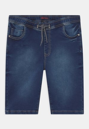 TEEN BOYS  - Denim shorts - blue
