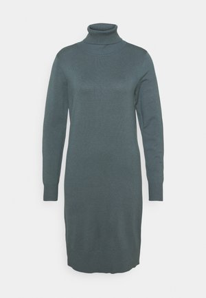 MILASZ ROLLNECK DRESS - Jumper dress - dark slate