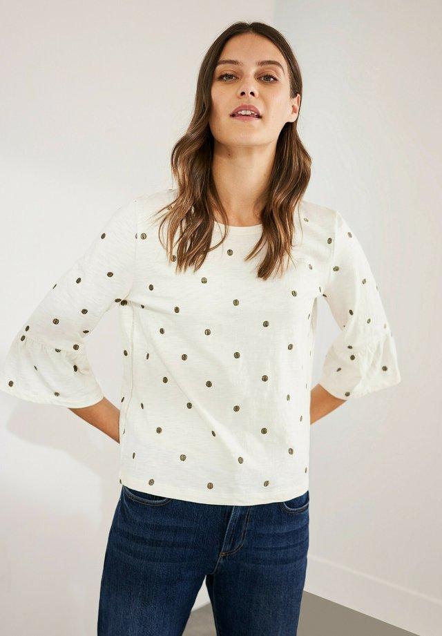 T-shirt à manches longues - offwhite