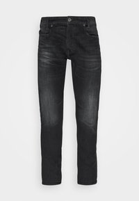 D-STAQ 5-PKT SLIM - Jeans slim fit - elto black/medium aged faded