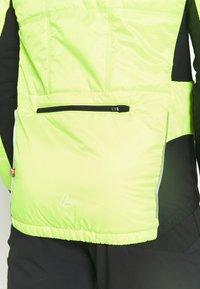 LÖFFLER - BIKE ISO JACKET HOTBOND - Outdoorjakke - neon yellow - 4