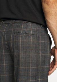 River Island - Suit trousers - grey dark - 5