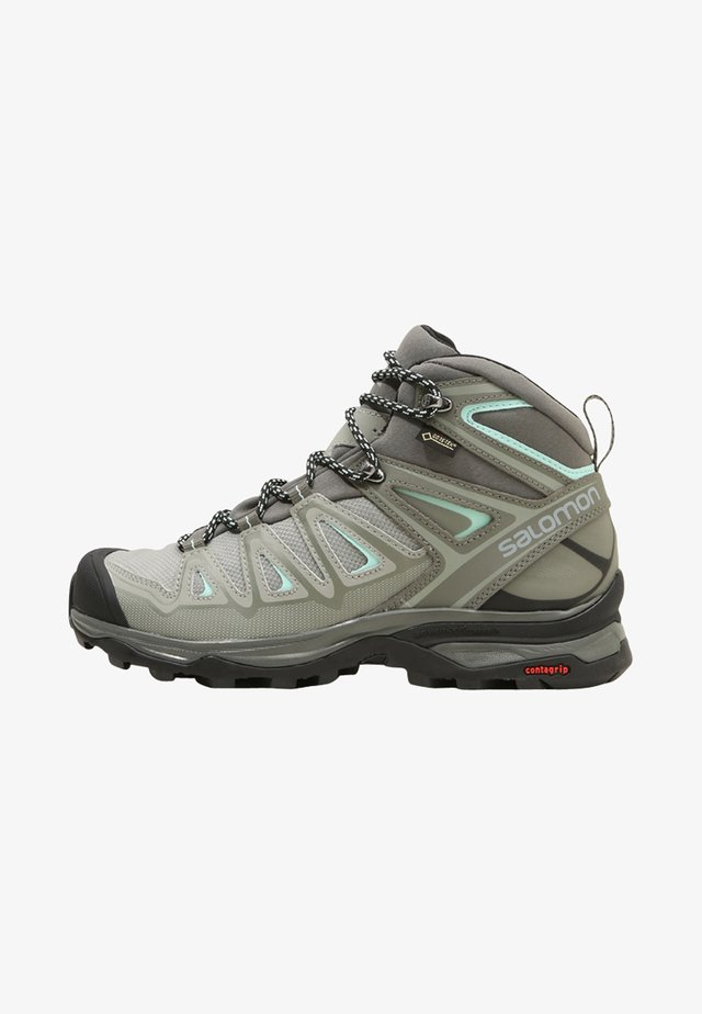X ULTRA 3 MID GTX  - Vaelluskengät - shadow/castor gray/beach glass