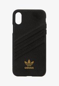 adidas Originals - MOULDED CASE FOR IPHONE X/XS - Phone case - black - 1