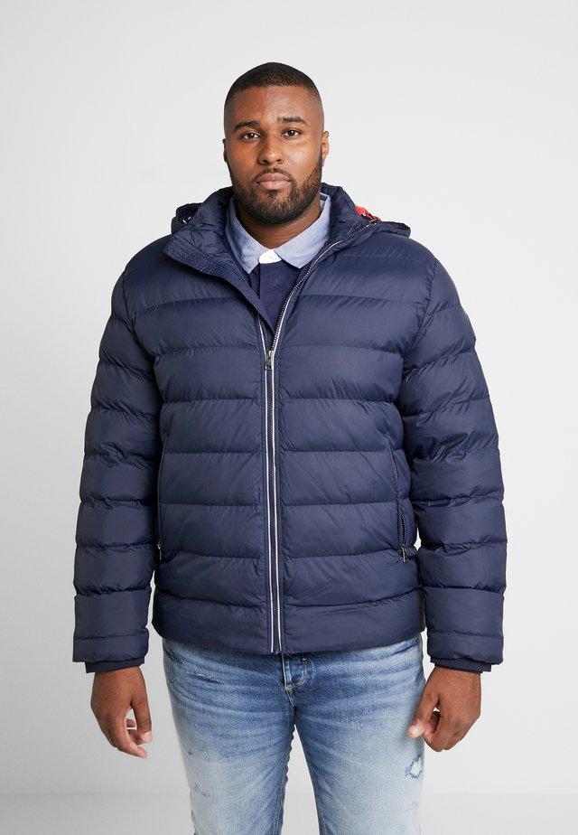 PLUS  - Winter jacket - evening blue