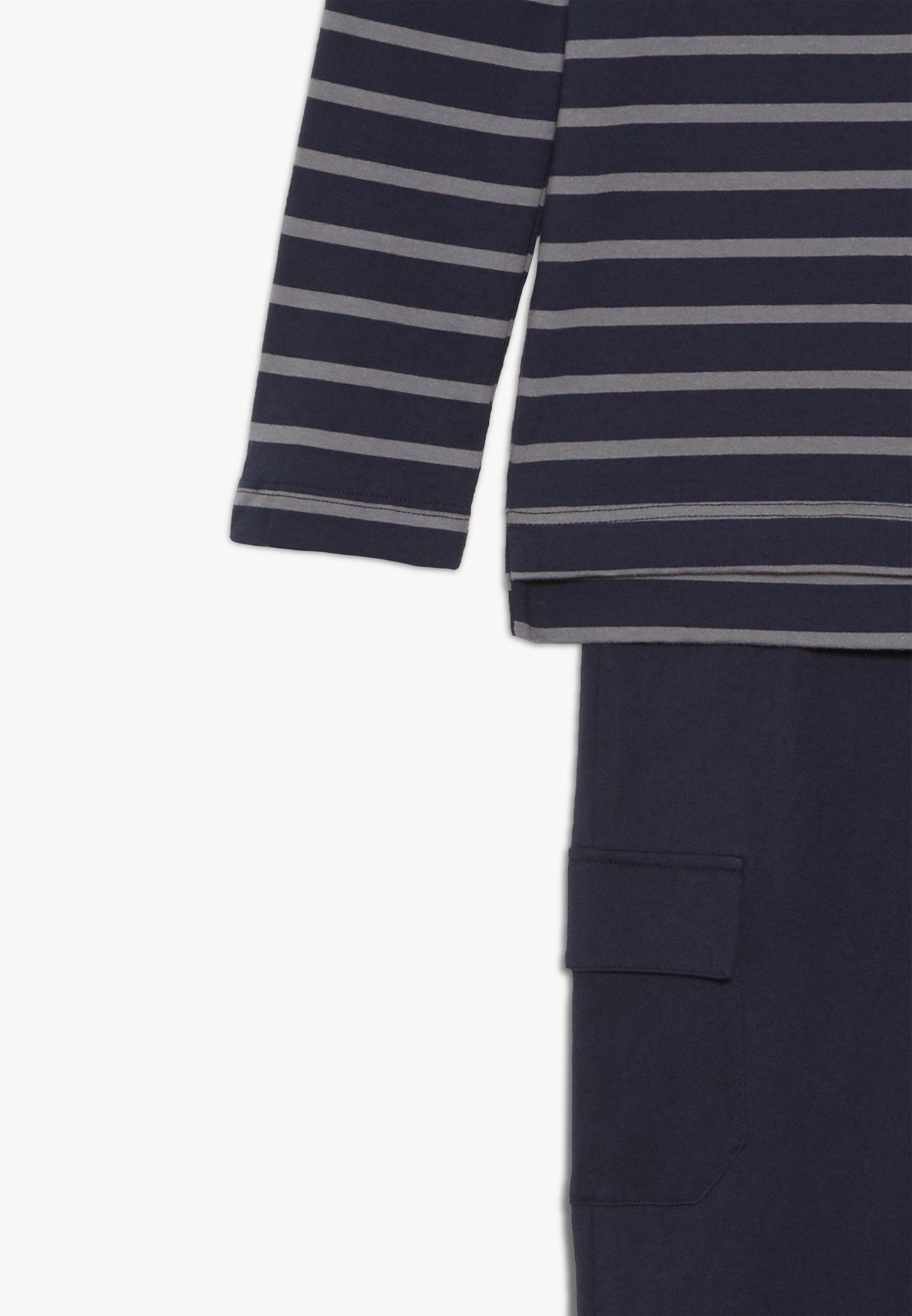 Najnowsza zniżka Zakupy Schiesser LANGER SCHLAFANZUG JUNGS SET - Piżama - blau | Dzieci Odzież 2020 oe7wG