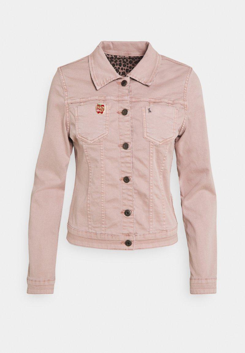 Frieda & Freddies - JACKET - Denim jacket - infinity rose