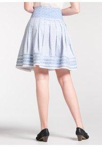 Spieth & Wensky - NIKITA - A-line skirt - light blue - 2