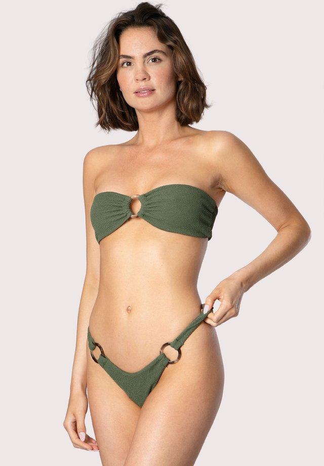 CRINKLE - Bikinitop - green