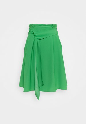 RINANE - A-linjainen hame - medium green