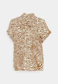 Samsøe Samsøe - MAJAN - Button-down blouse - mountain zebra - 1