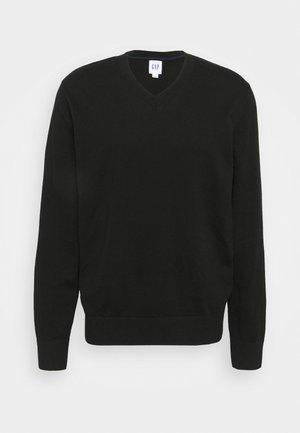 V CORE  - Stickad tröja - true black