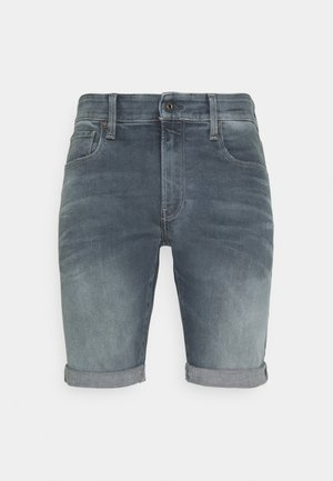 3301 SLIM SHORT - Shorts di jeans - smokey night