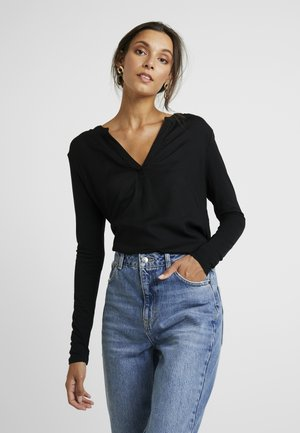 KACALINA BLOUSE - Blůza - black deep