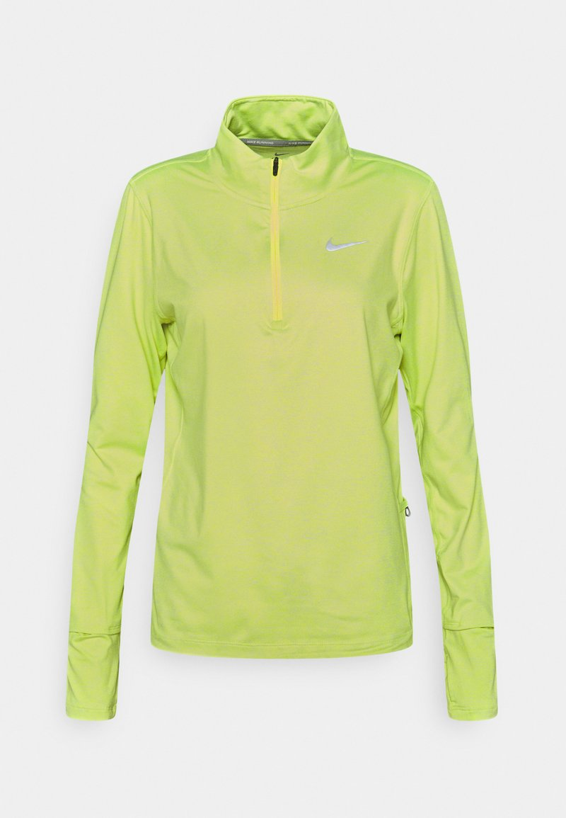 Nike Performance - ELEMENT - Sports shirt - volt/barely volt/silver