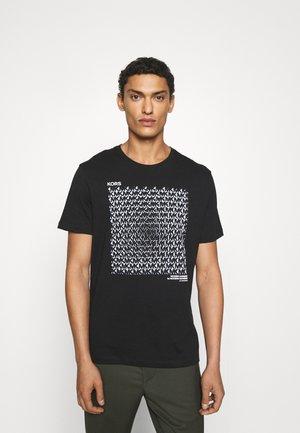 Marškinėliai su spaudiniu - black
