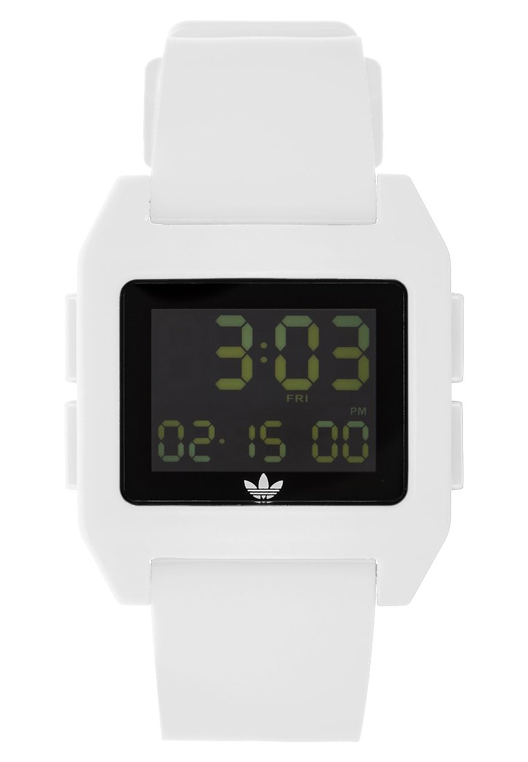 adidas Originals ARCHIVE - Digitaal horloge - white - Dameshorloge Kwaliteit