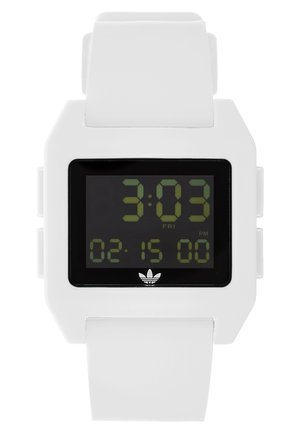 ARCHIVE - Reloj digital - white