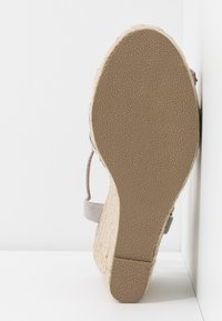 New Look Wide Fit - WIDE FIT OSPARKLE - High heeled sandals - mid grey - 6