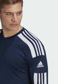 adidas Performance - SQUADRA 21 - Pitkähihainen paita - blue - 2