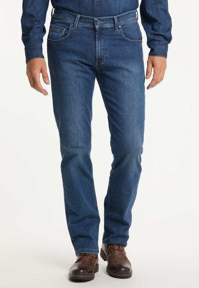 RANDO MEGAFLEX - Straight leg jeans - stone used